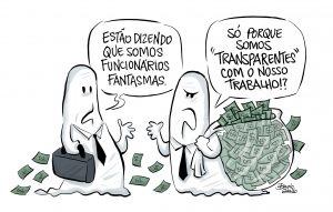 charge funcionarios fantasmas