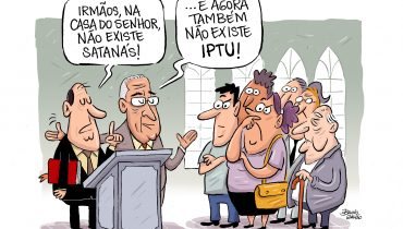 Charge IPTU - templos e igrejas